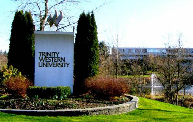 Campus de la Trinity Western University,