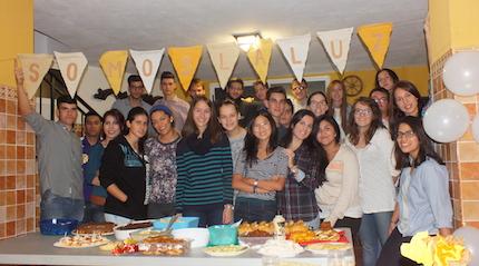 Grupo de jóvenes de Armilla (noviembre 2014).