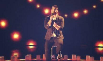 Una de sus últimas actuaciones en La Voz.