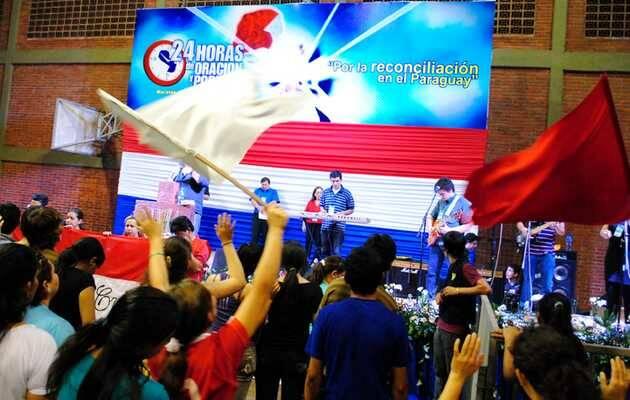 Maratón Nacional de Oración de Paraguay en 2014,Paraguay, Maratón Oración