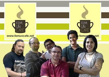 El equipo de 'Fem un cafè', programa de Ràdio Bonanova.