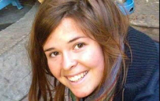 Kayla Mueller, en una imagen de archivo,Kayla Mueller