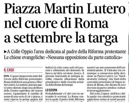 La noticia en 'Il Messaggero'.