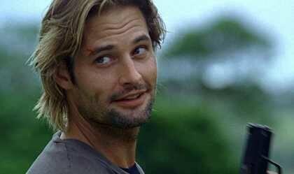 Sawyer (el actor Josh Holloway)