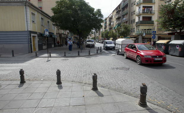 Barrio de La Chana, en Granada, donde se produjo el ataque.,granada