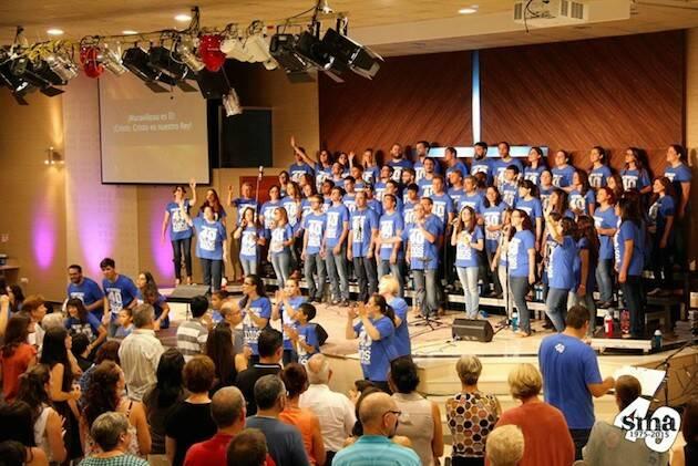 Concierto de participantes en la Semana de Música y Adoración, en Dénia.,