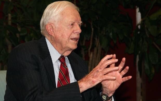 El ex presidente Jimmy Carter anunció que padece cáncer.,jimmy carter