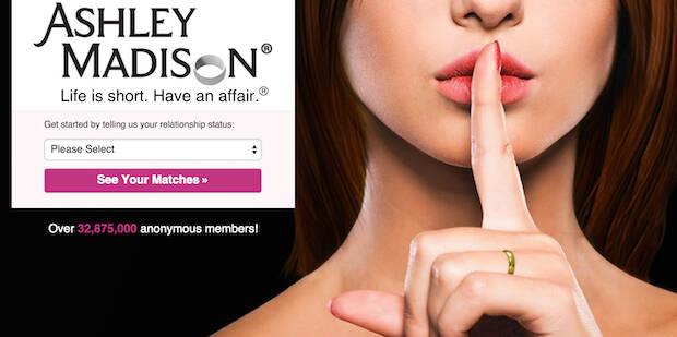 La web Ashley Madison contaba con 37 millones de usuarios.,ashley madison