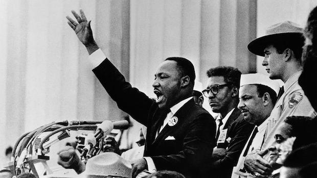 Martin Luther King Jr., el 28 de agosto de 1963. ,mlk