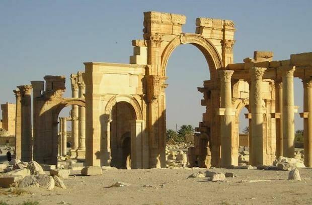 Algunas de las ruinas antiguas de Palmira han sido destruidas por el Daesh. / HispanTV,palmira