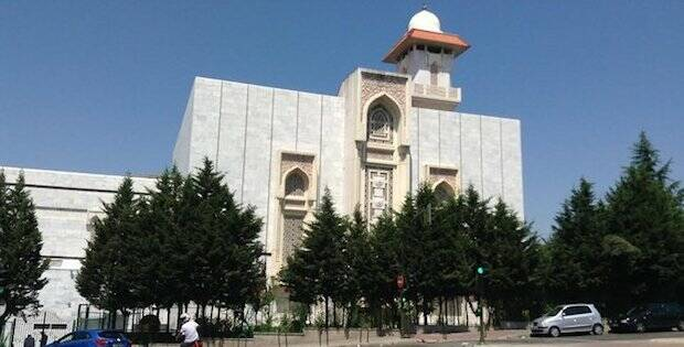 La mezquita de Madrid.,madrid