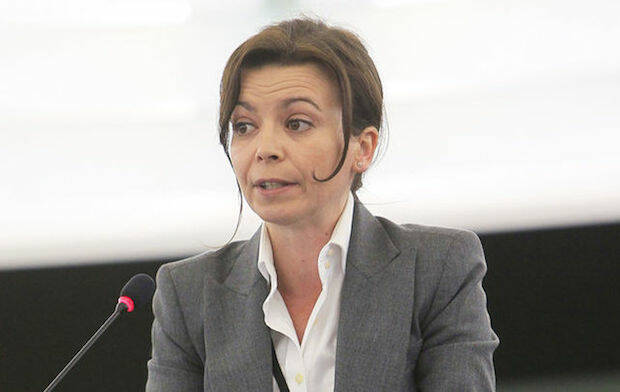 La europarlamentaria Liliana Rodrígues, impulsora del polémico informe.,liliana rodrigues