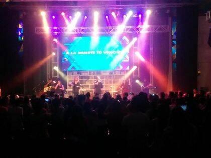 El concierto de Esperanza de Vida cerró el primer día de la Cumbre / EJ