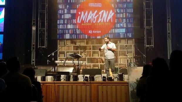 Lucas Leys, uno de los ponentes de la Cumbre Imagina, celebrada en Madrid. / Josep Fc Sampedro Goig,