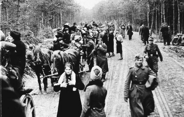 Refugiados tras la 2ª Guerra mundial.,