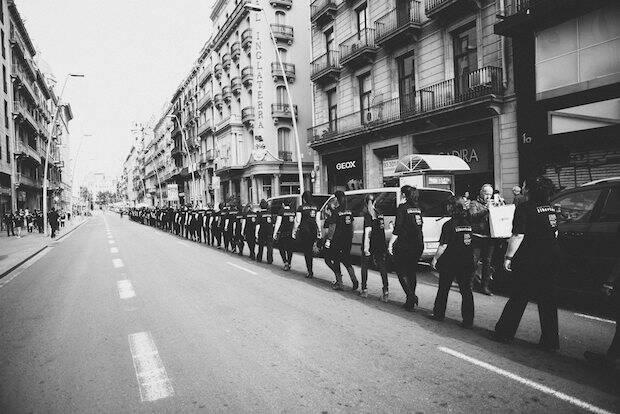 Caminando Por Libertad el pasado año.,