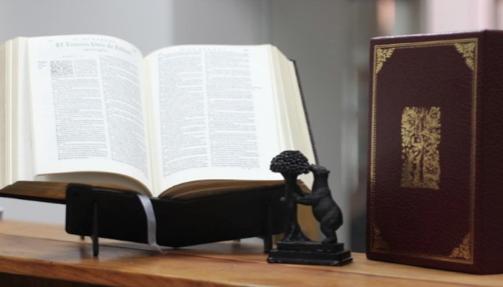 La Biblia del Oso, emblema de la reforma protestante en España.,