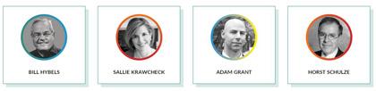 Algunos de los autores. / GLS