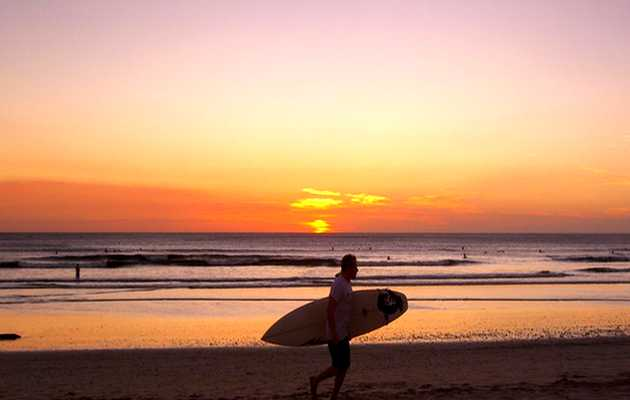 ,atardecer playa, surf
