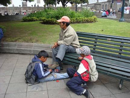 Niños trabajadores.
