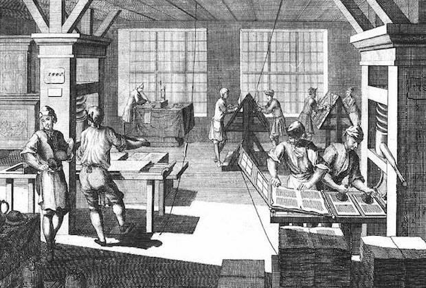 Imprenta en el siglo XIX. / Protestantes.net,imprenta s xix