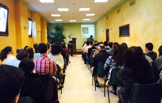 Una panorámica de la Jornada / Unai Arretxe,capellanes evangélicos, País Vasco