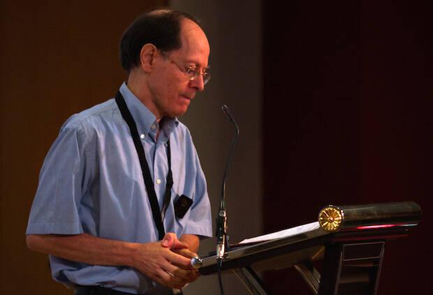 Pablo Martínez fue uno de los conferenciantes del 31º Encuentro de los Grupos Bíblicos Graduados, celebrado del 9 al 12 de octubre en Cullera, Valencia. / GBU,GBG encuentro Pablo Martínez Vila