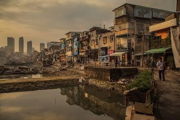 Xiamen, ciudad china.,