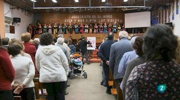 El Culto de la Reforma será en la Primera Iglesia Bautista de Madrid. / BNTV,culto de la reforma españa