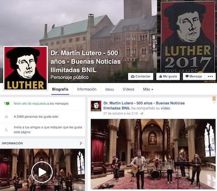 Buenas Noticias Ilimitadas en Paraguay difunde la Reforma en las redes sociales.