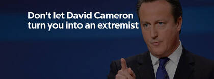 Una de las imágenes promocionales utilizadas en la campaña.