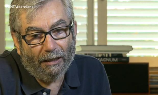 Antonio Muñoz Molina, en el programa de Buenas Noticias TV.,