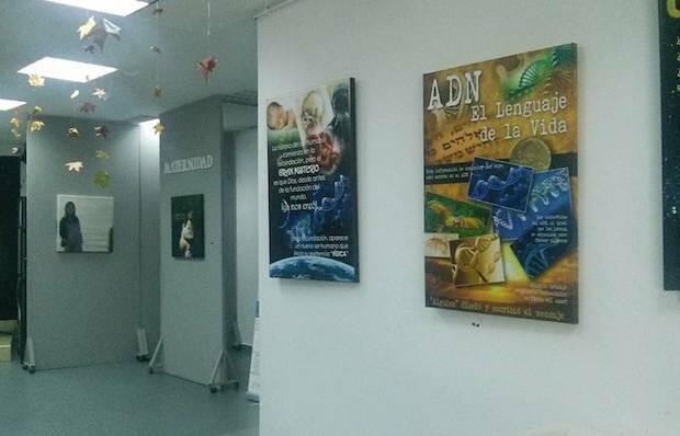Exposición de Aesvida.,