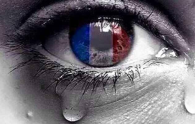 ,lágrimas París, lágrimas Francia