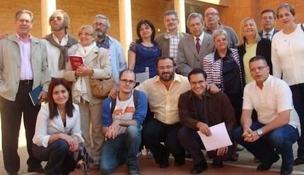 Poetas participantes en la edición de 2012.