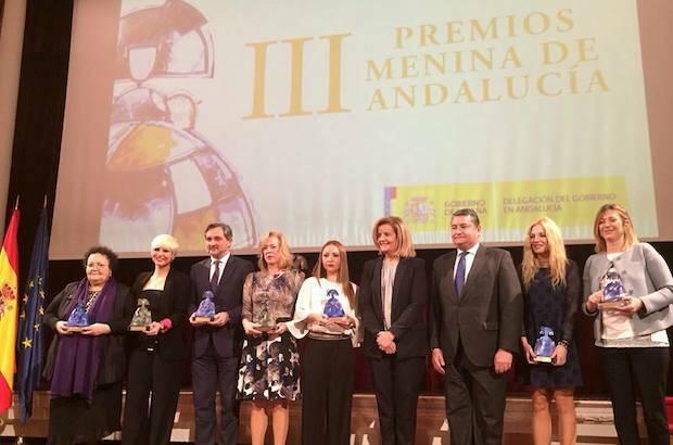Los premiados de la III Edición Premios Menina.,