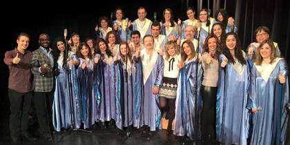 El coro Gospel de C-LM / Lucía González