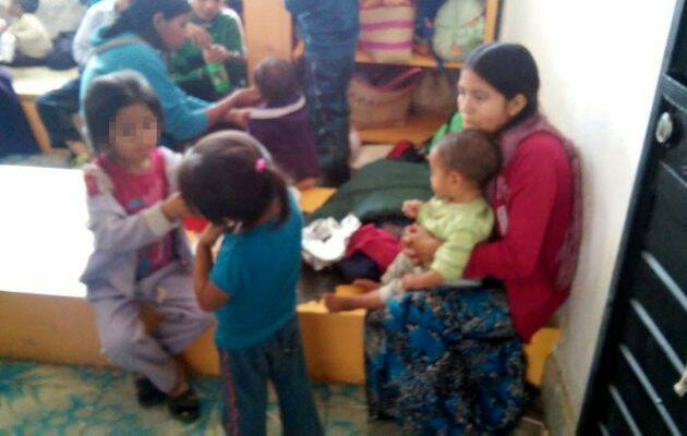 Las familias desplazadas en su realojo provisional / Proceso, Juan Orel Vázquez,cristianos perseguidos, Chiapas México