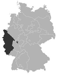 Región de influencia de la REK. / Wikipedia