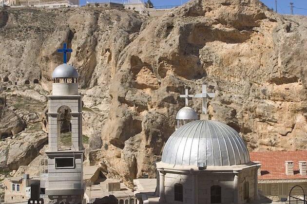 Una iglesia en Siria.,siria