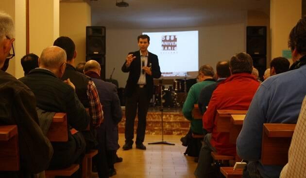 Un momento de la presentación de la conmemoración de la Reforma en España, en Valencia. / J. Forster,valencia, reforma, españa