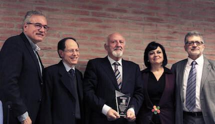 José Pablo Sánchez, Pablo Martínez, José María Calviño, Asun Quintana y Pedro Tarquis. / Marina Acuña