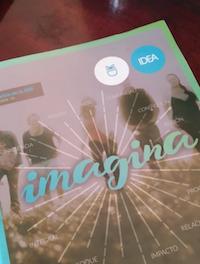 Imagina, revista editada por la AEE con la coordinación de Jaime Memory, fue presentada durante el evento. / JPSerrano