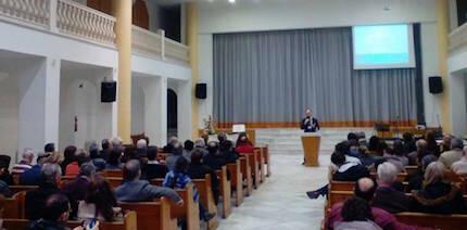 La iglesia bautista en Casiodoro de Reina, 1 acogió el encuentro.