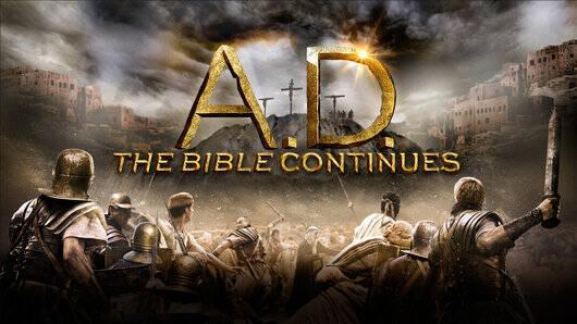 Cartel de promoción de la serie. / NBC,la biblia continua