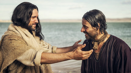 La historia de los primeros cristianos en una serie de 12 episodios. / NBC
