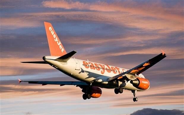 Un avión de Easyjet. ,easyjet, luton, nigerian, christian