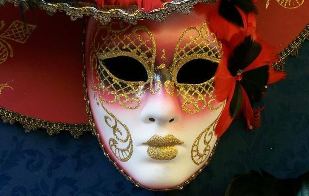 Máscara de carnaval,Máscara carnaval, Venecia