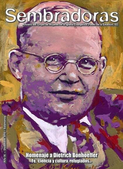 Sembradoras, con retrato de Miguel Elías.
