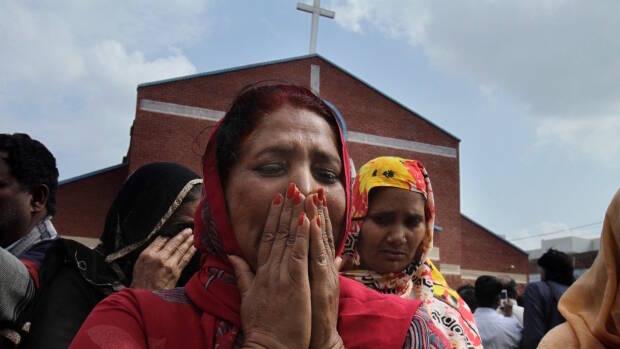 La mayoría de las víctimas son niños y mujeres. / Dawn News,atentado lahore